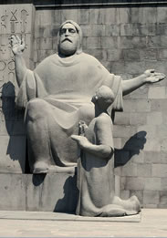 Saint Mesrop Mashtots - inventor of the Armenian alphabet